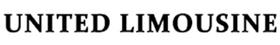 United Limousine Logo